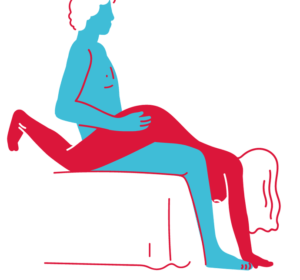 posisi seks - seated wheelbarrow