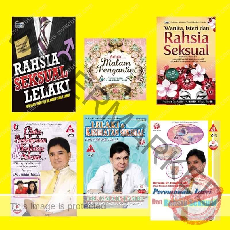 Buku & VCD dr. ismail tambi