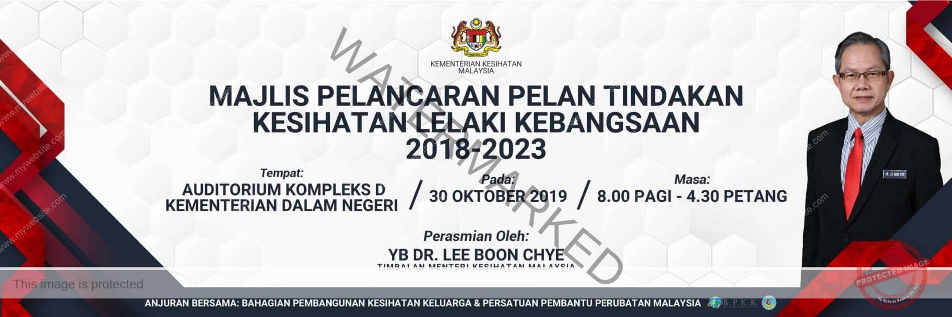 Pelan_Tindakan_Kesihatan_Lelaki_Kebangsaan_2018-2023 dr ismail tambi biodata