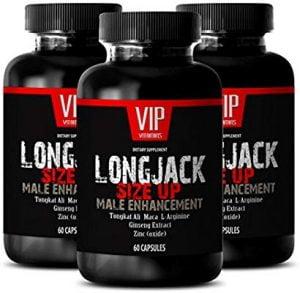 Tongkat Ali - VIP Vitamins LLC Longjack Size Up