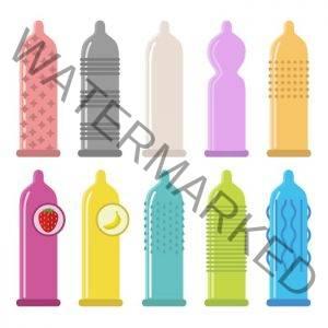 Jenis bentuk kondom