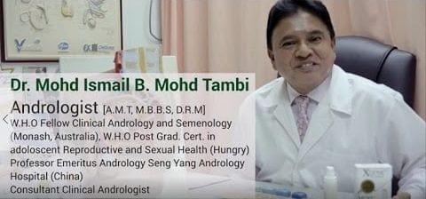 latar belakang dr. ismal tambi