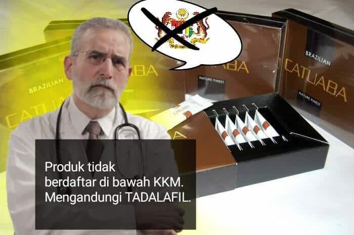 Catuaba Malaysia KKM