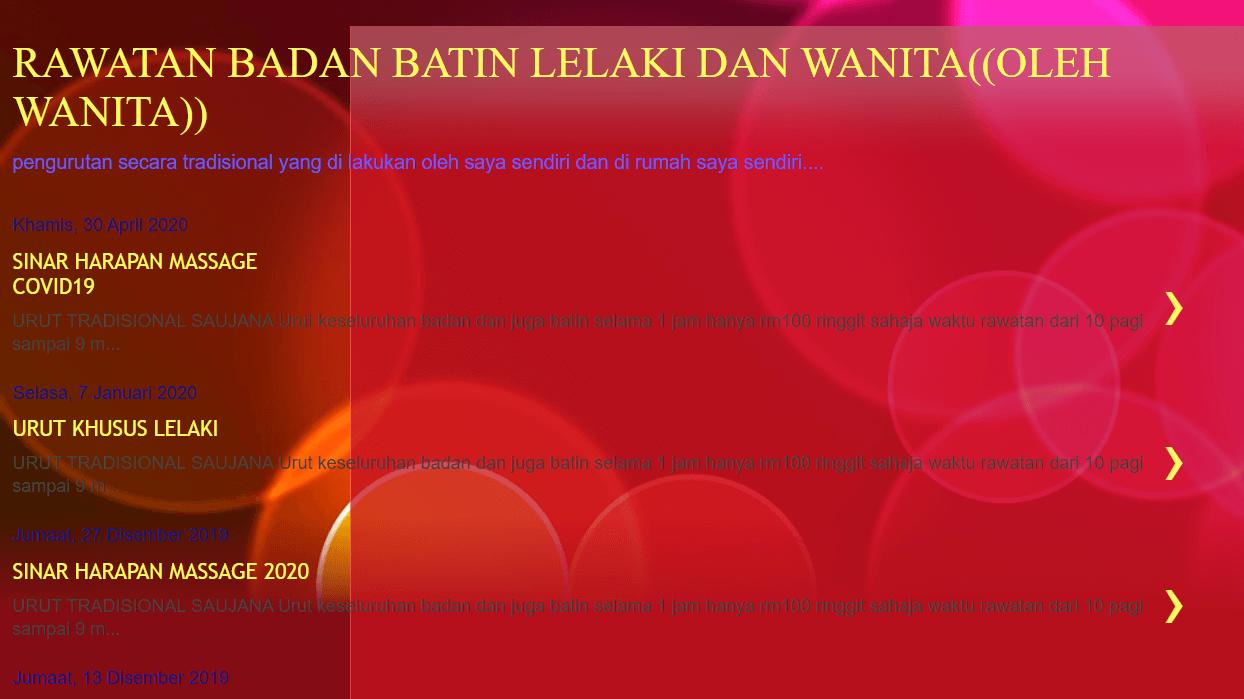 Urut Batin