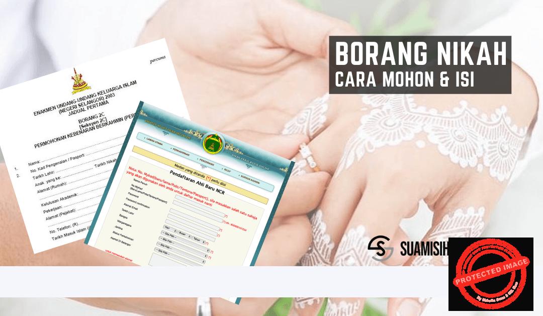 Borang Nikah