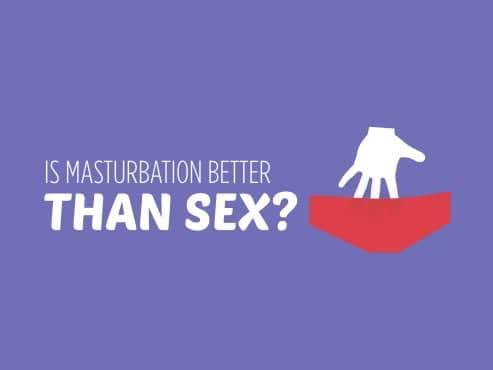 Onani lebih baik berbanding seks