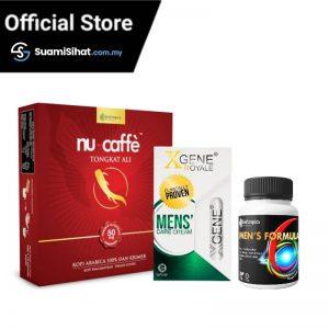 Xgene & Men's Formula & Nu Caffe