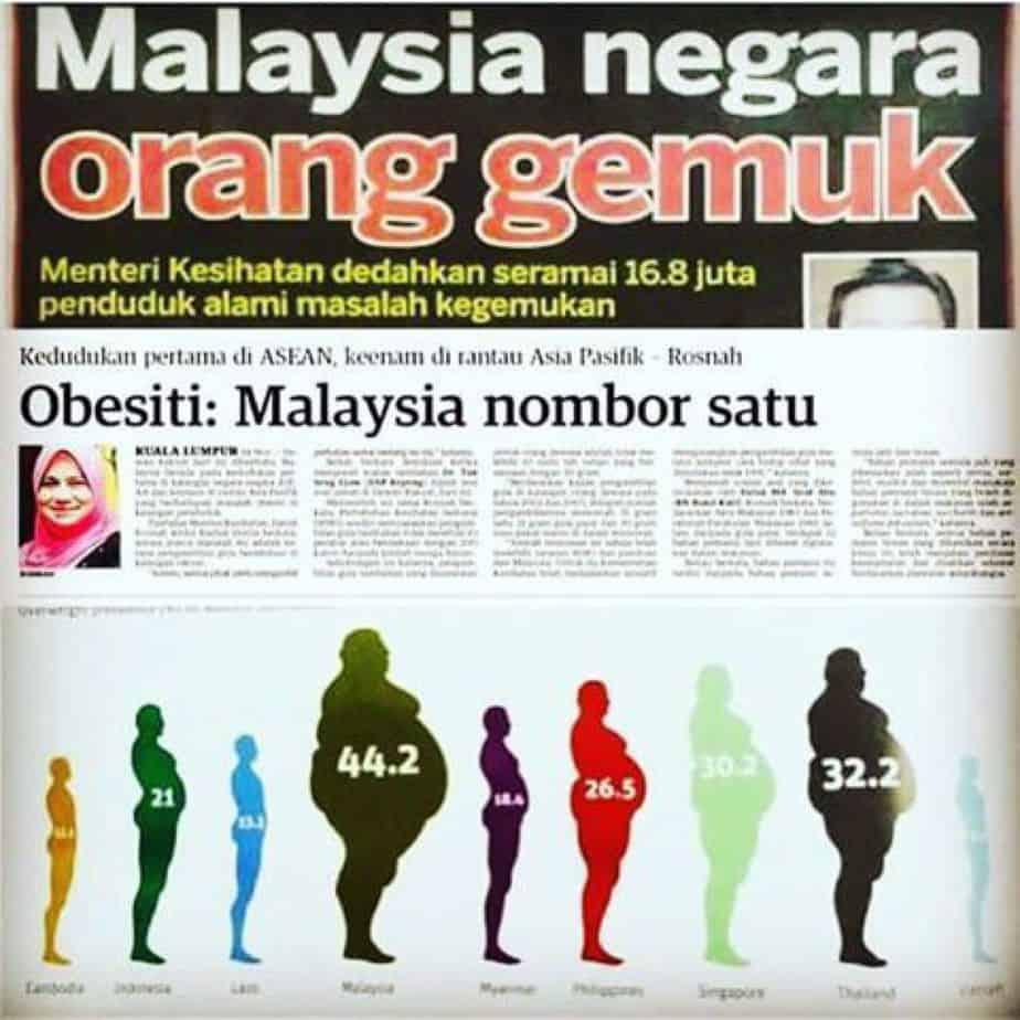 malaysia gemuk satu