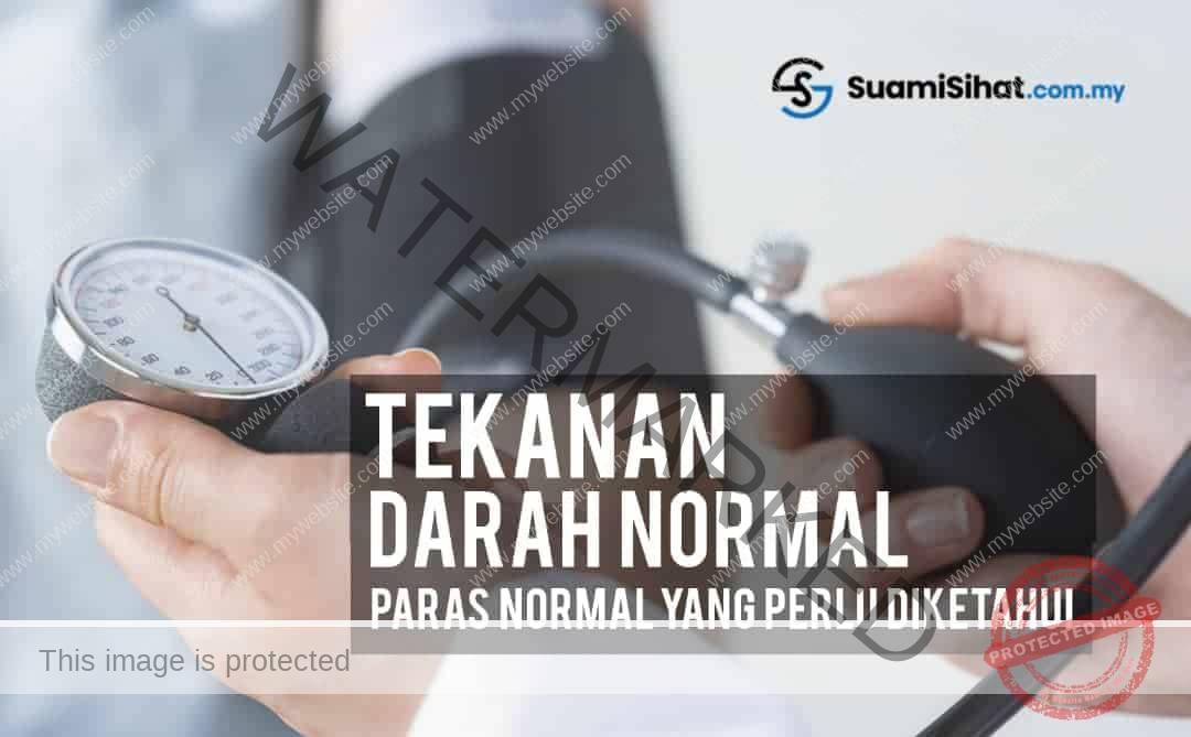 Tekanan Darah Normal – Paras Normal Yang Penting Untuk Kita Ketahui