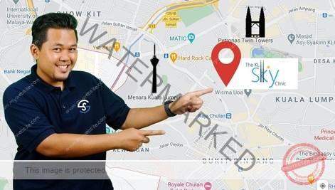 lokasi klinik kesihatan Lelaki